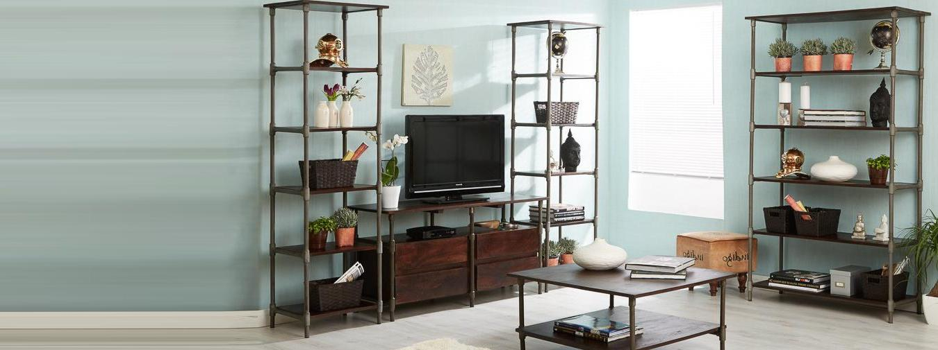 Santara Wide & Narrow Bookcase